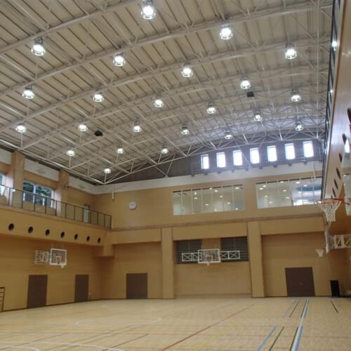 体育館 新築電気設備工事