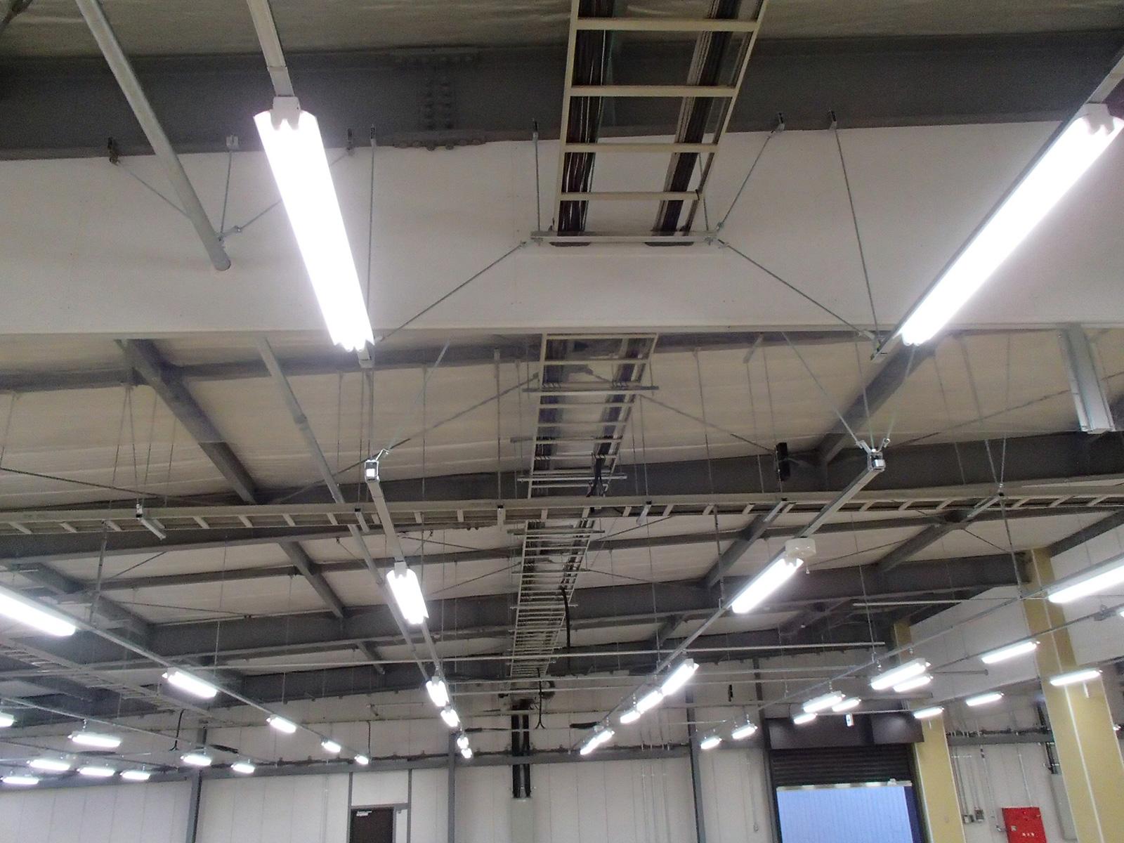 工場大規模修繕 電気設備工事