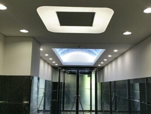 LED照明事例施工事例 EVホール施工例