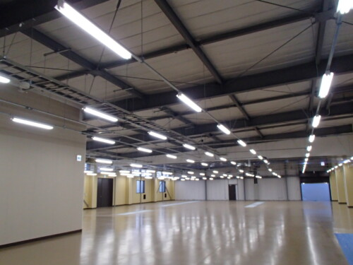 LED照明事例施工事例 工場施工例