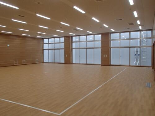 LED照明事例施工事例 体育室施工例